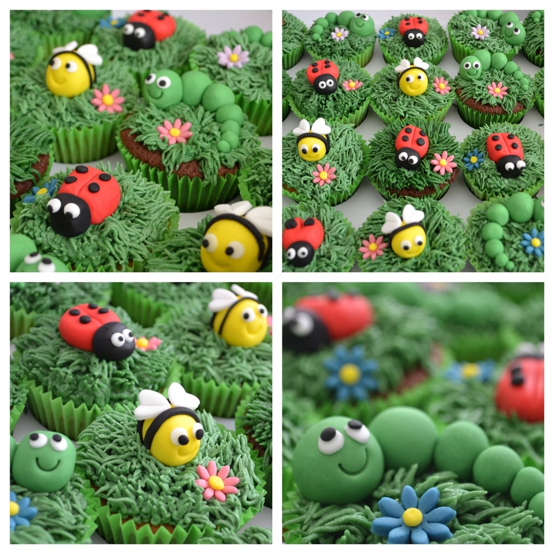 Insect Cupcakes